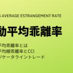移動平均乖離率とCCI【計算】【BTCFX & FX】