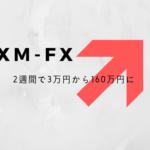 【XM-FX】2週間で元手3万円を160万円にした手法・インタビュー